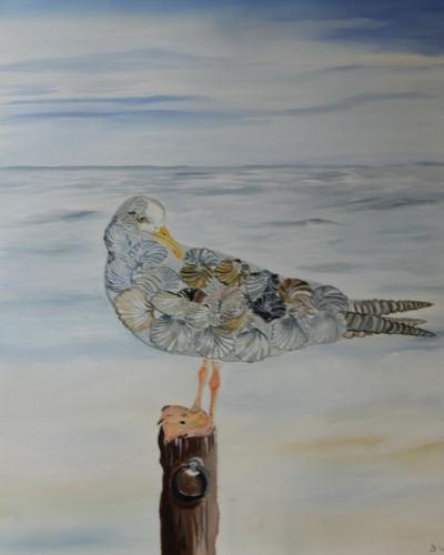 Vogel zonder veren ( Reme Magritte )