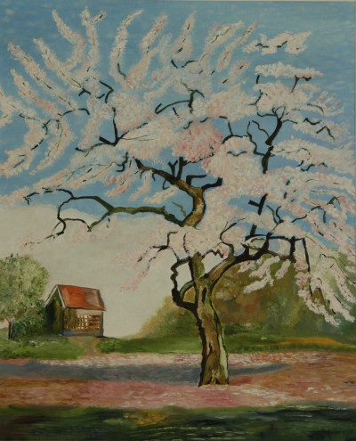 Appelboom in bloei
