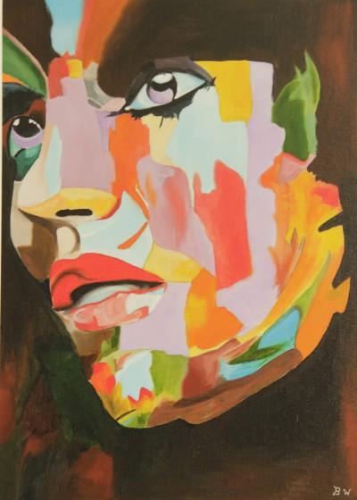 Portret in vele kleuren