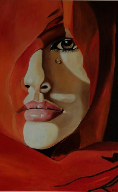 Portret vrouw zonder zeggenschap